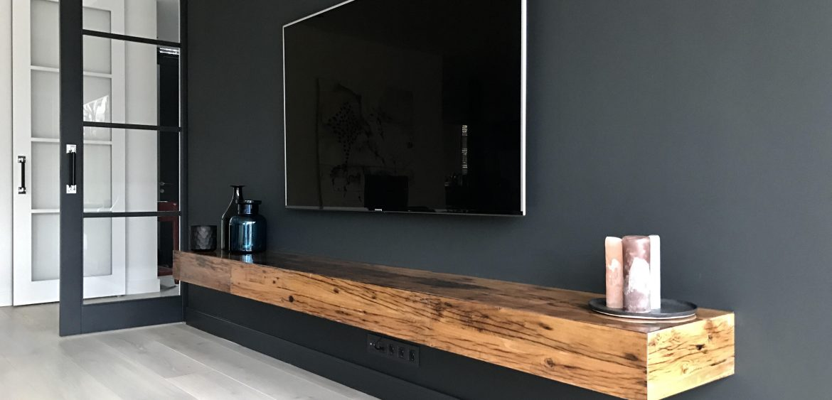 Zwevende Tv Meubel Justarby Interieur